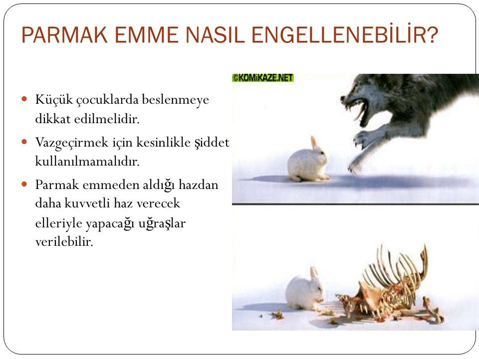 PARMAK EMME NASIL ENGELLENEBİLİR
