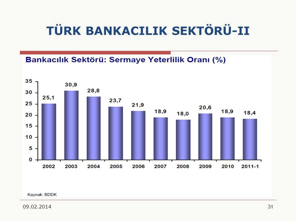 TÜRK BANKACILIK SEKTÖRÜ-II