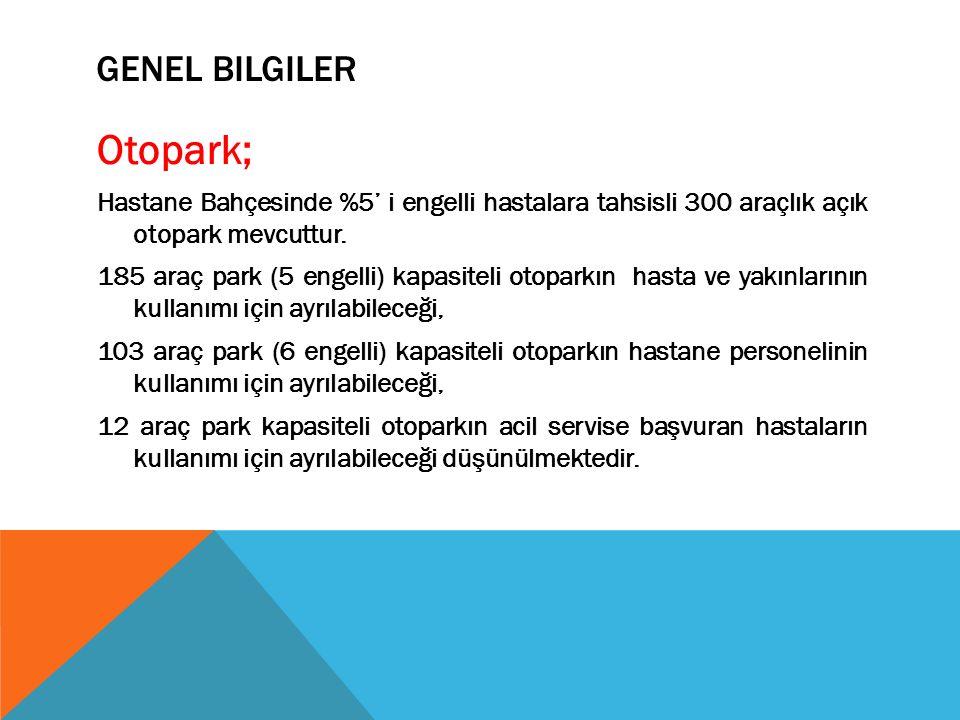 Otopark; Genel bilgiler