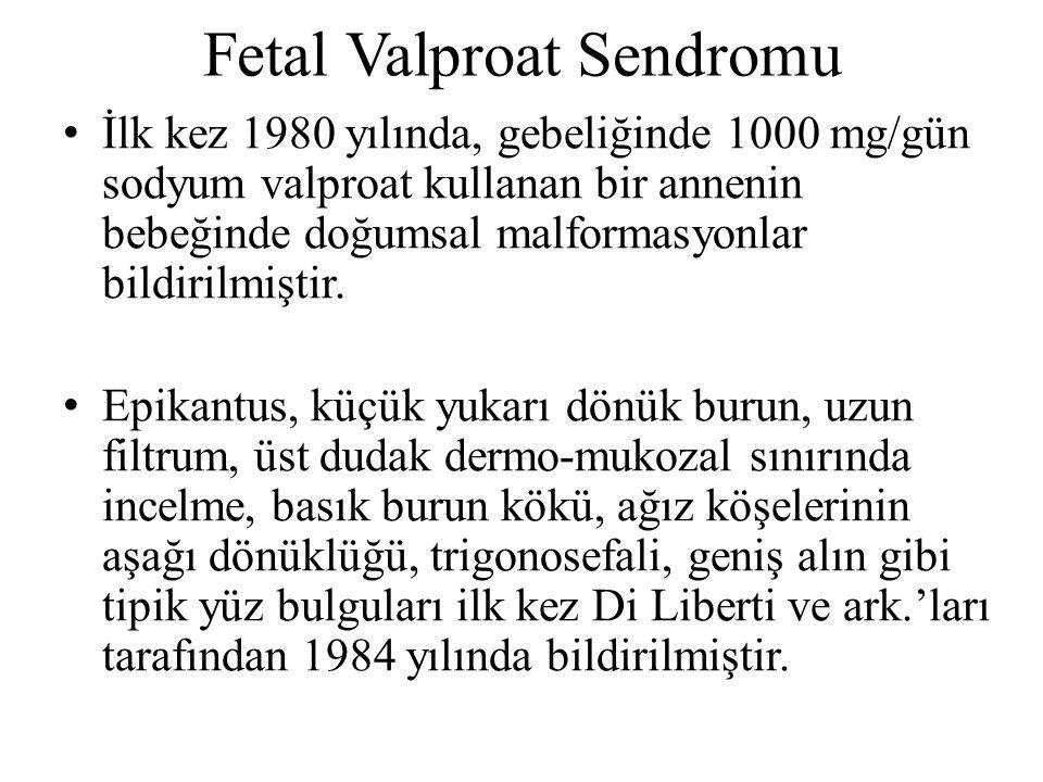 Fetal Valproat Sendromu