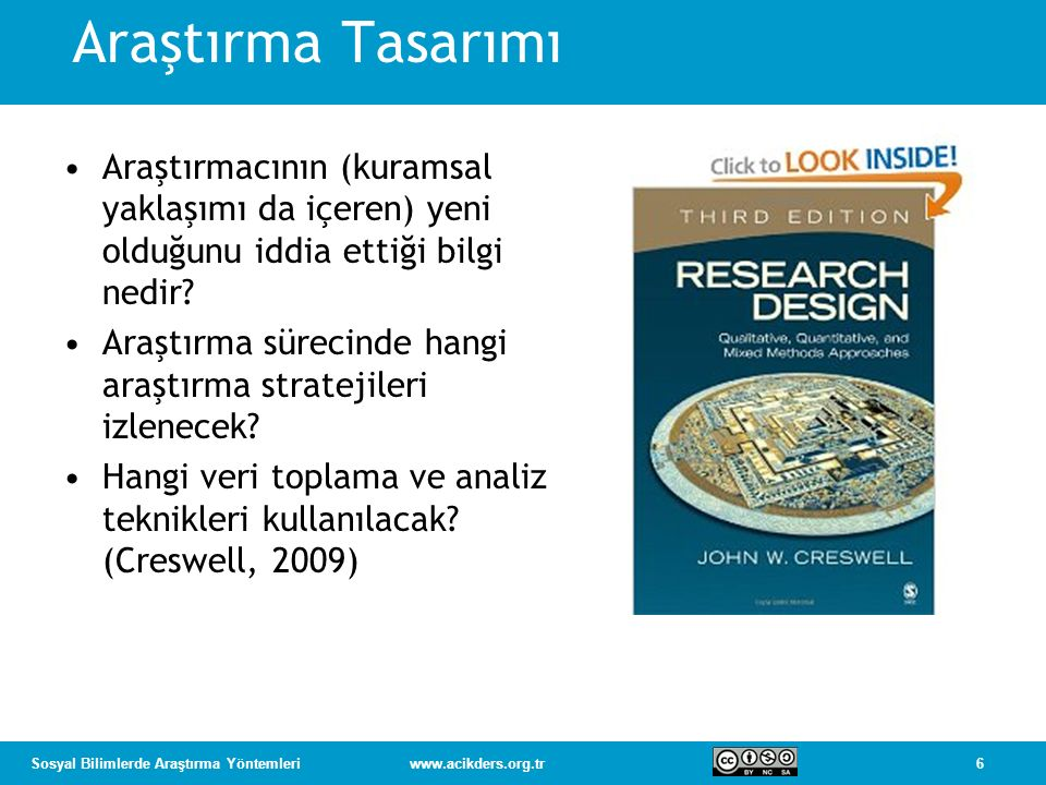Araştırma Tasarımı Araştırmacının (kuramsal yaklaşımı da içeren) yeni olduğunu iddia ettiği bilgi nedir
