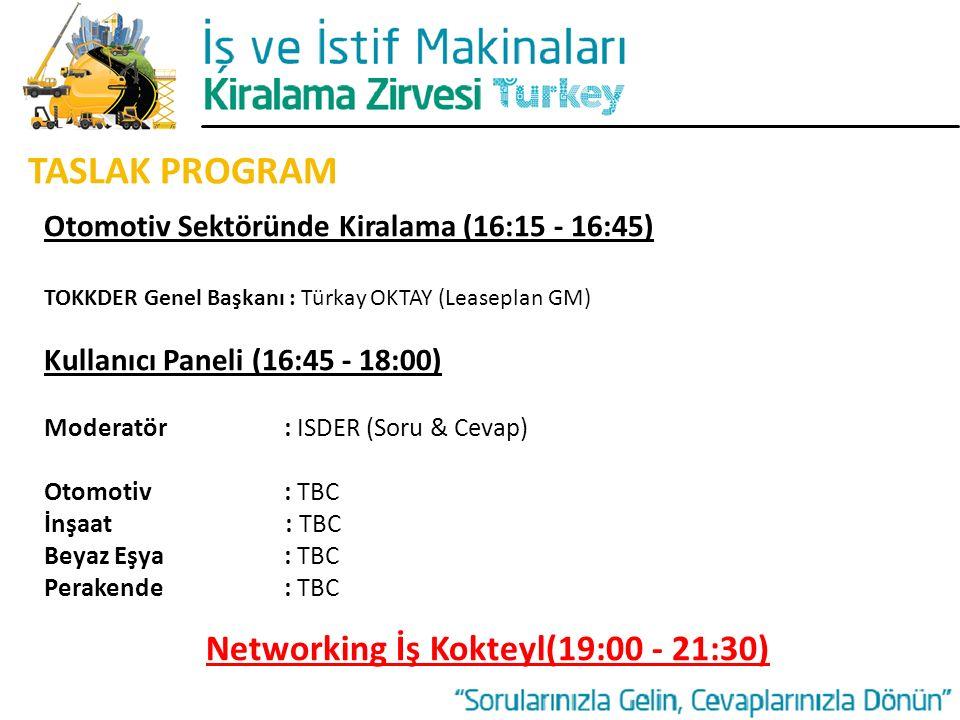 Networking İş Kokteyl(19:00 - 21:30)
