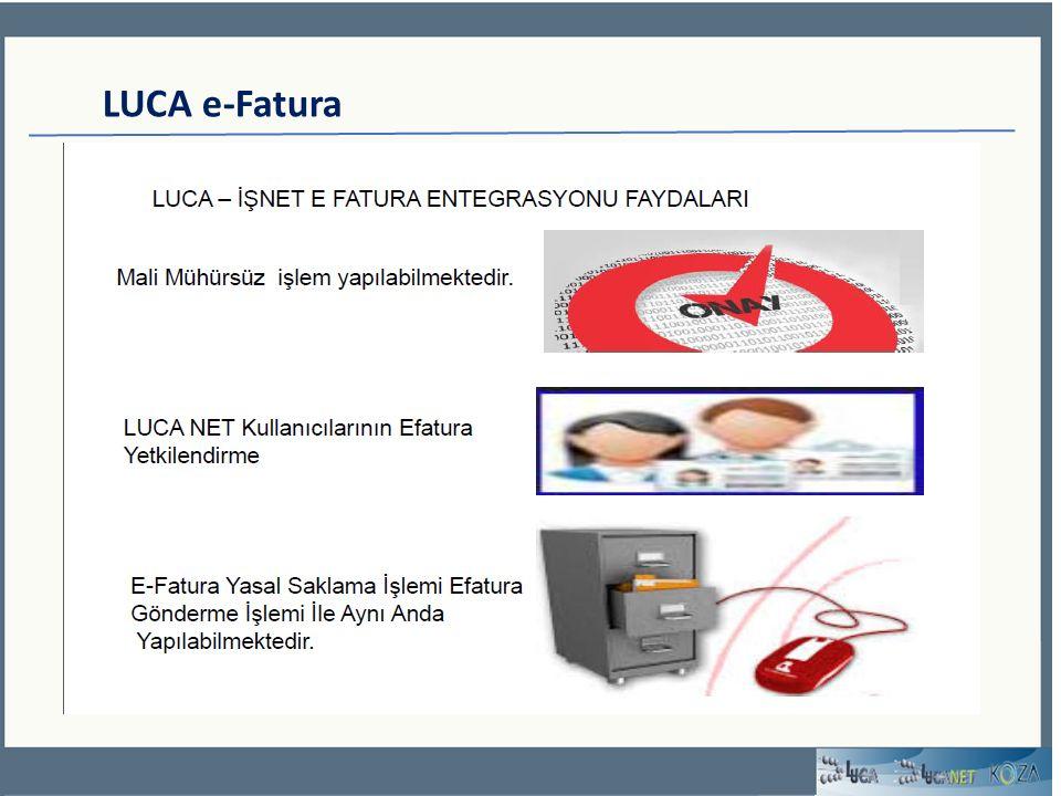 LUCA e-Fatura
