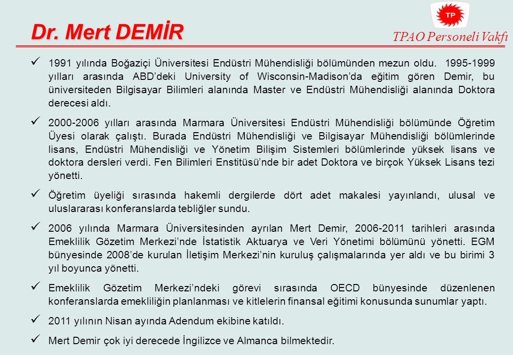 Dr. Mert DEMİR