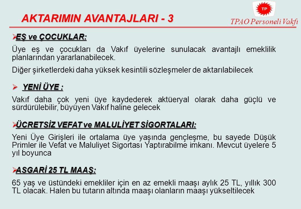 AKTARIMIN AVANTAJLARI - 3