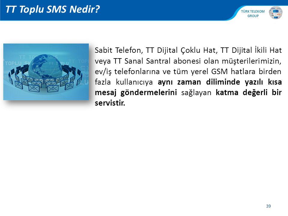 TT Toplu SMS Nedir