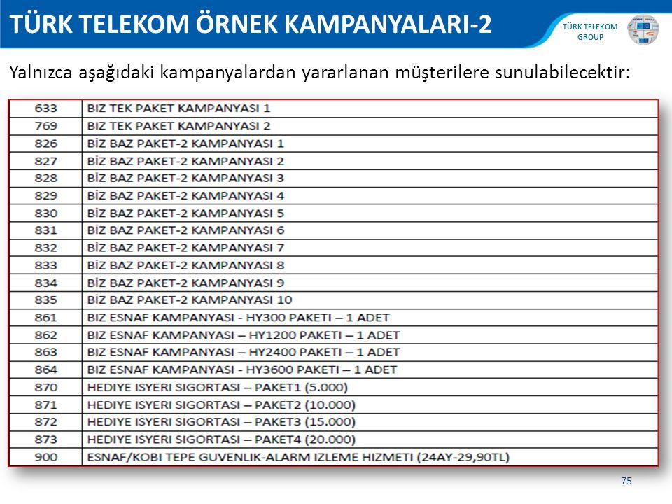 TÜRK TELEKOM ÖRNEK KAMPANYALARI-2