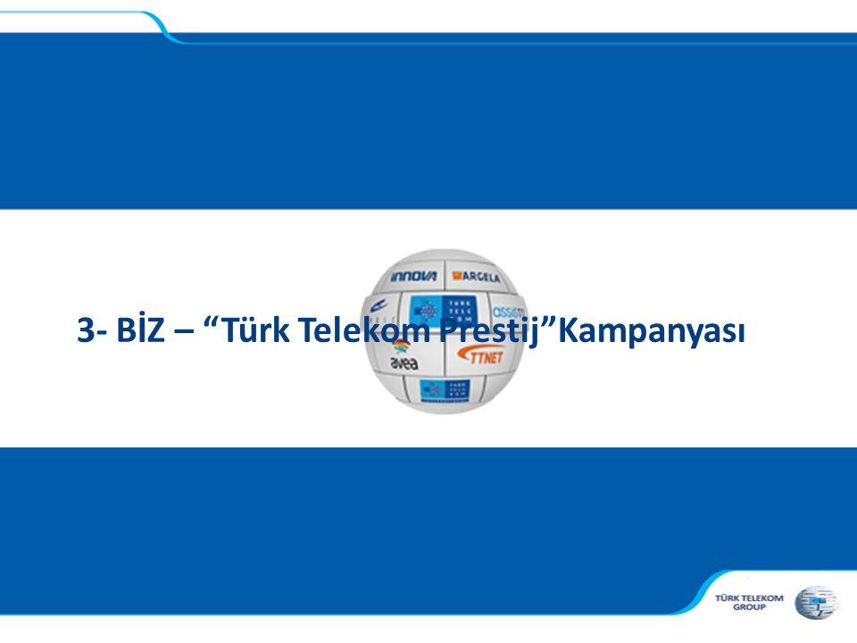 3- BİZ – Türk Telekom Prestij Kampanyası