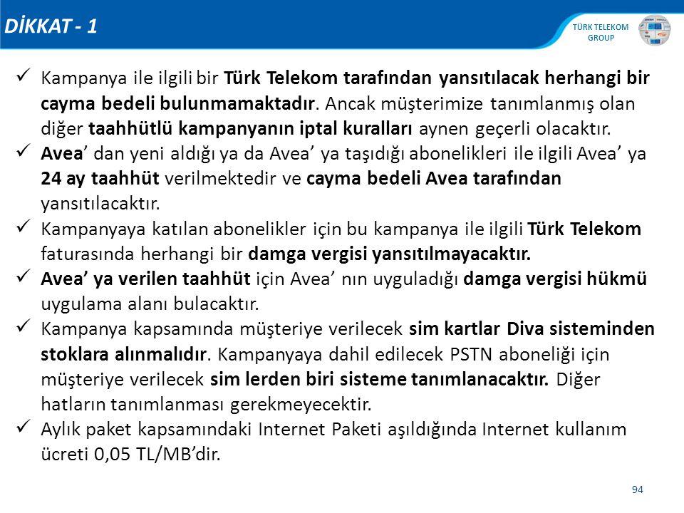 DİKKAT - 1
