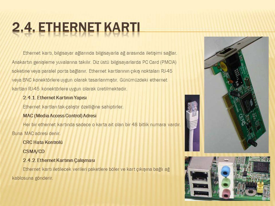 2.4. Ethernet Karti