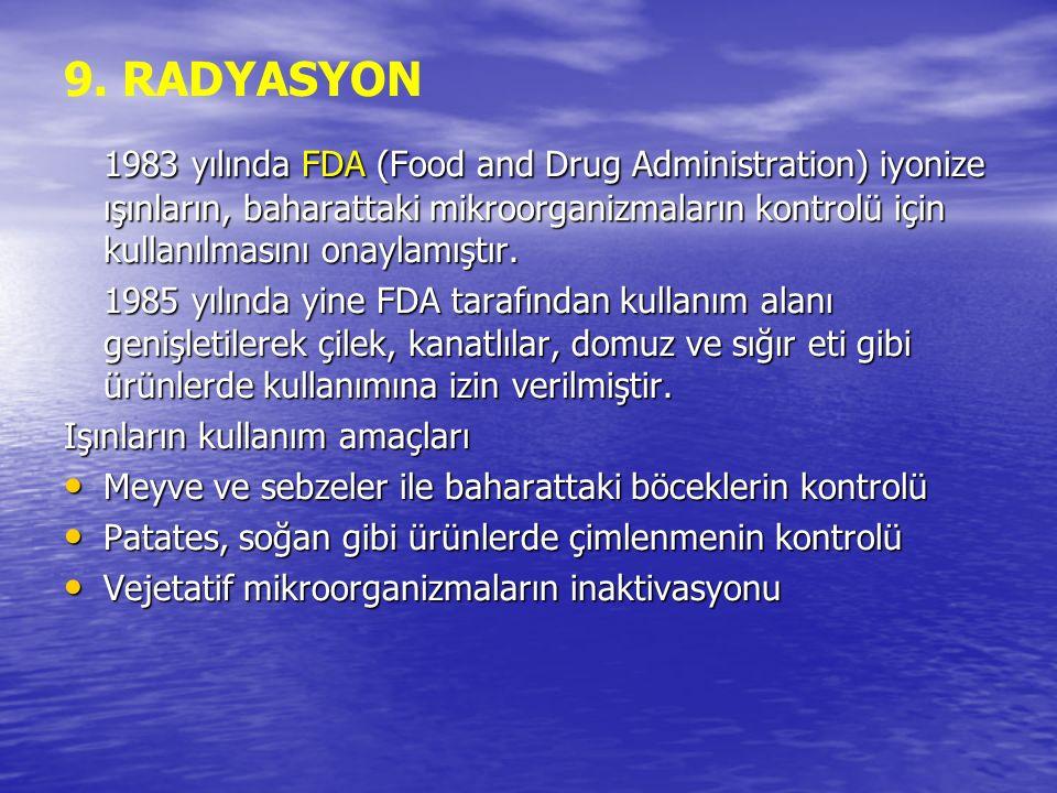 9. RADYASYON