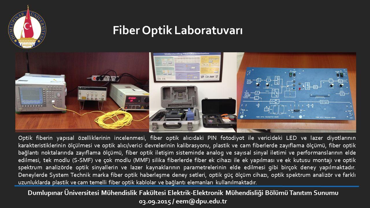 Fiber Optik Laboratuvarı