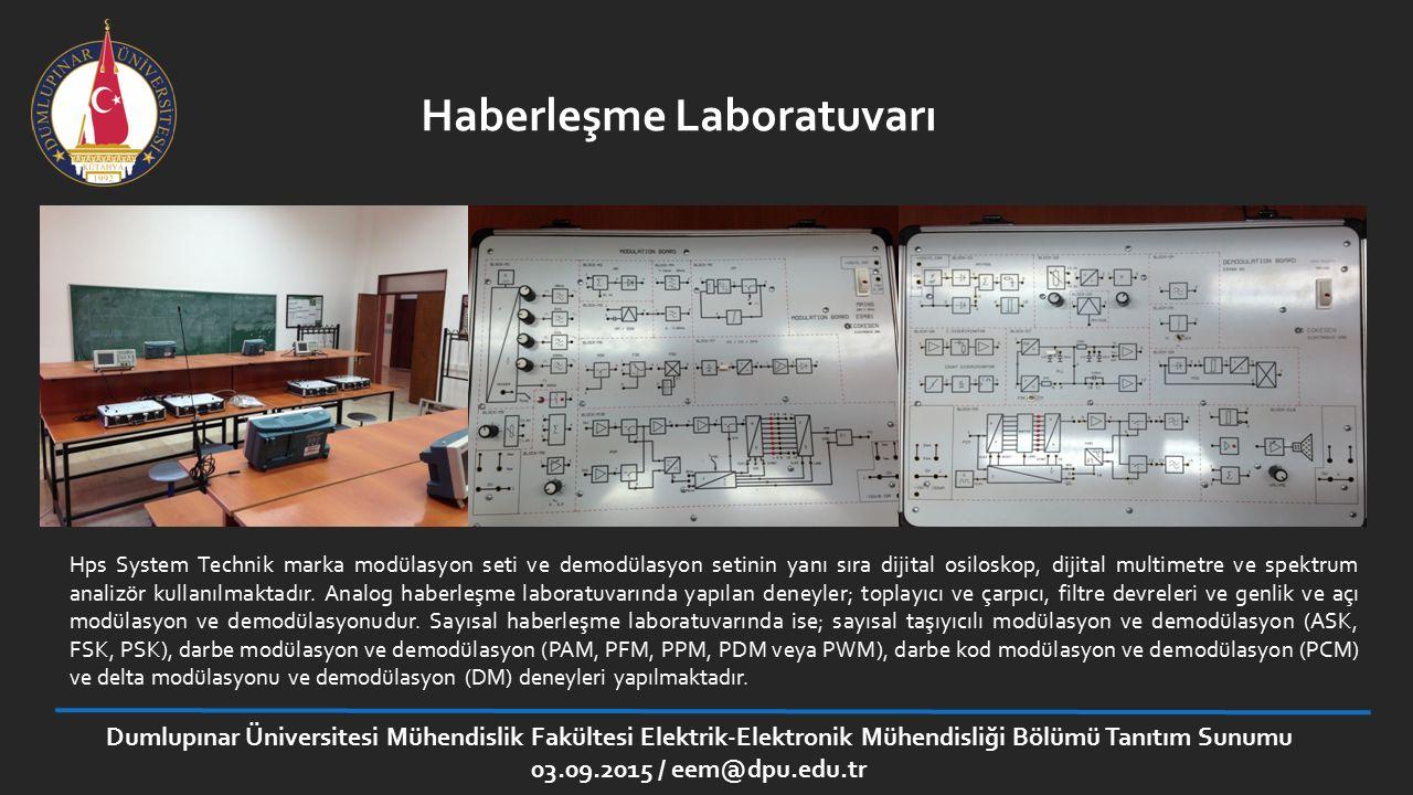 Haberleşme Laboratuvarı