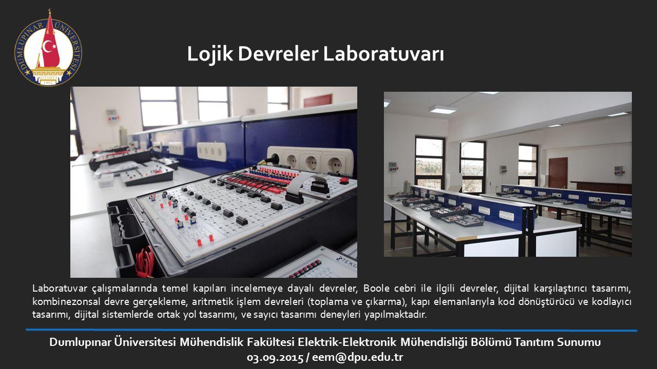 Lojik Devreler Laboratuvarı