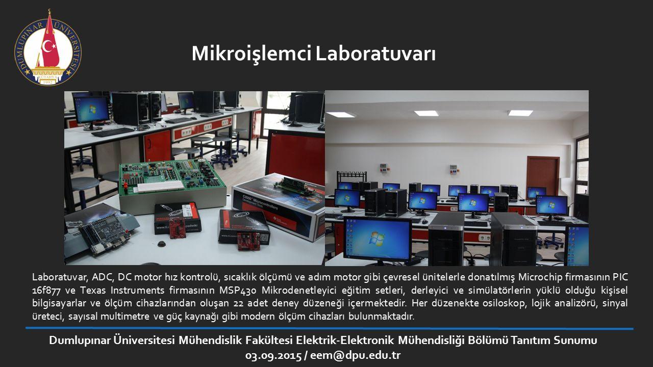 Mikroişlemci Laboratuvarı
