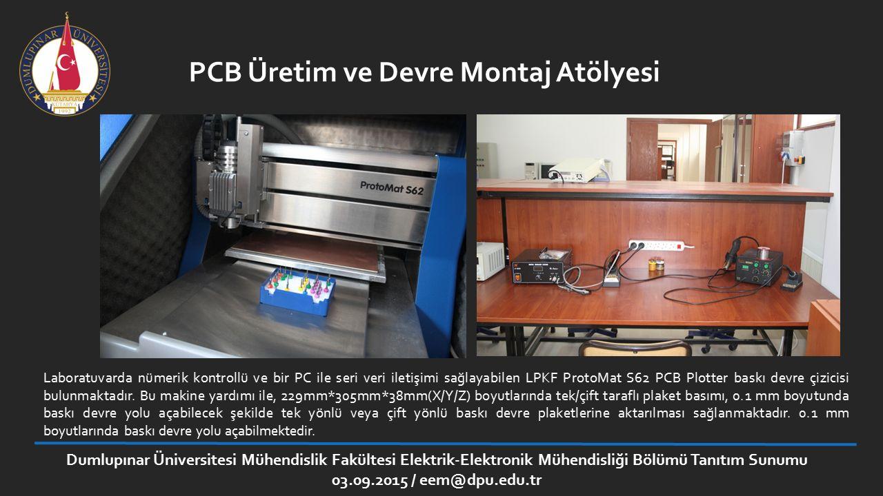 PCB Üretim ve Devre Montaj Atölyesi
