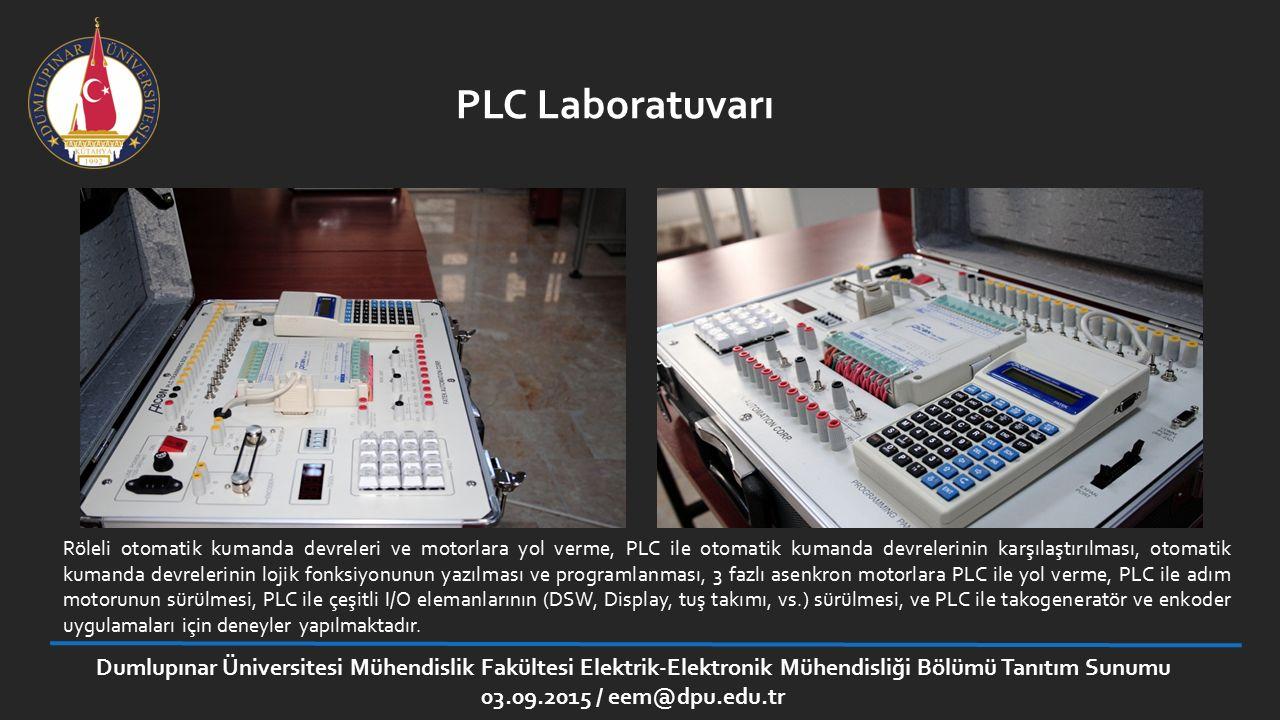 PLC Laboratuvarı