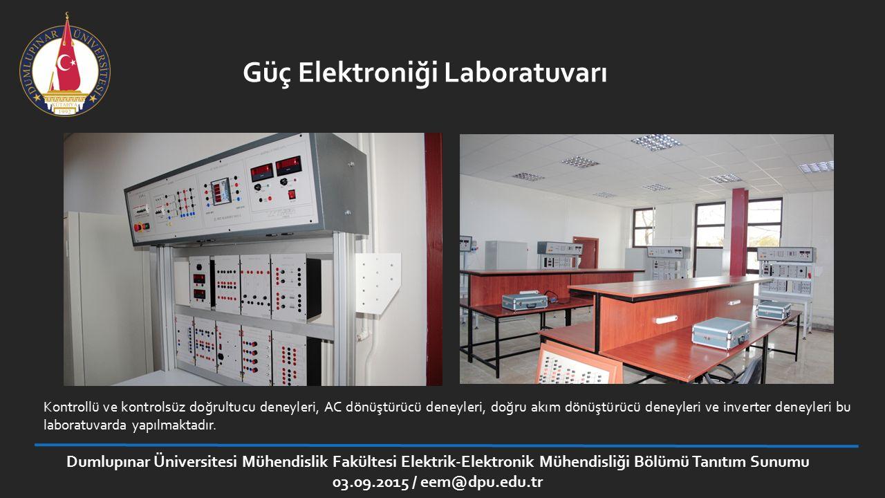 Güç Elektroniği Laboratuvarı