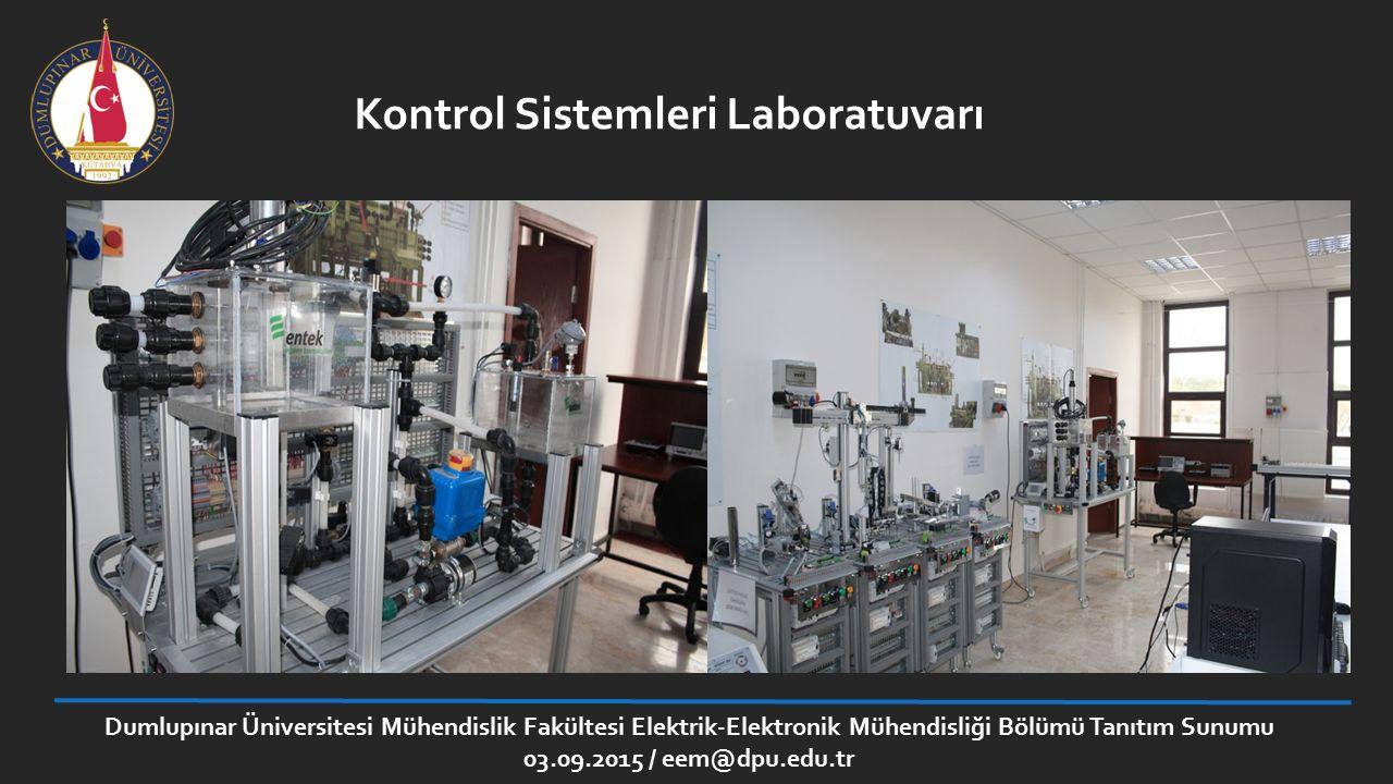 Kontrol Sistemleri Laboratuvarı