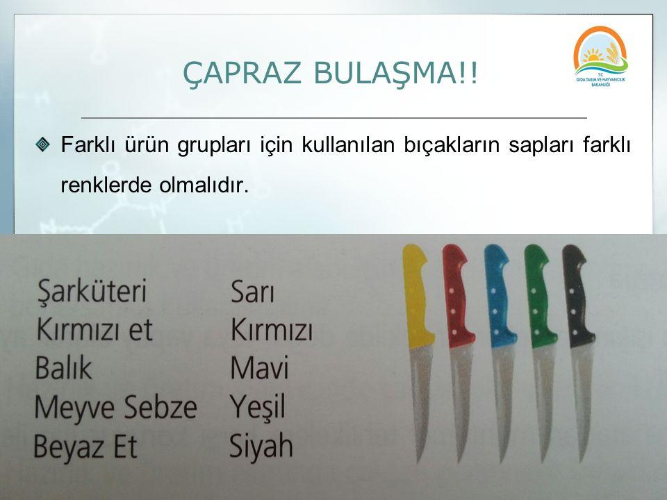 ÇAPRAZ BULAŞMA!.
