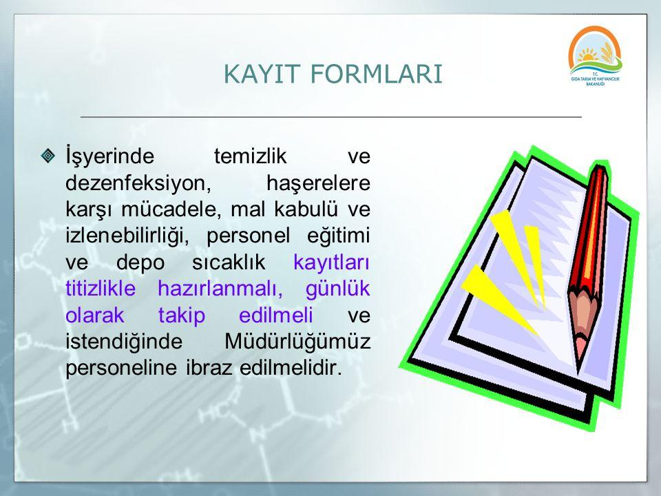 KAYIT FORMLARI