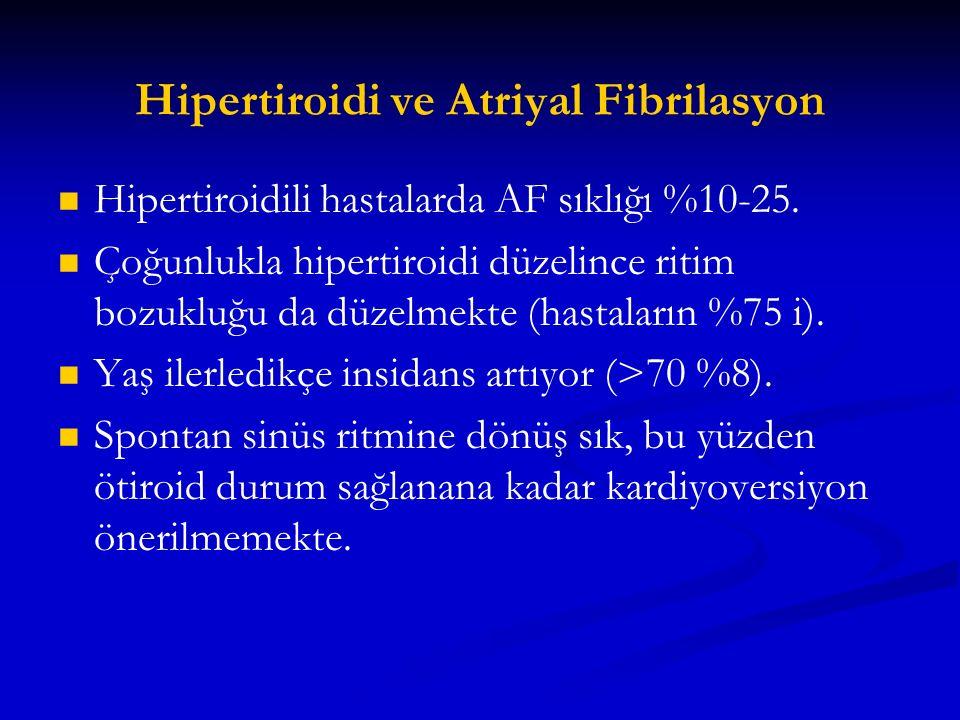 Hipertiroidi ve Atriyal Fibrilasyon