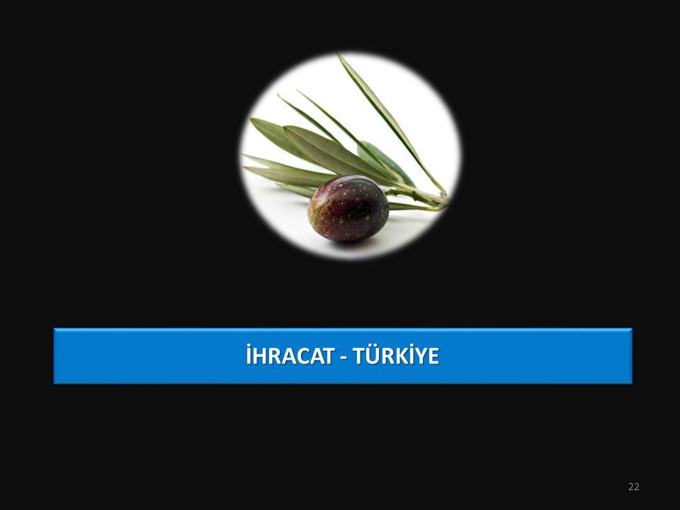İHRACAT - TÜRKİYE