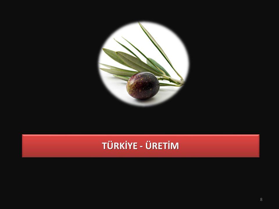 TÜRKİYE - ÜRETİM