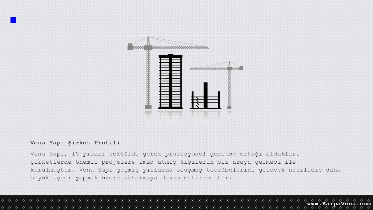 Vena Yapı Şirket Profili