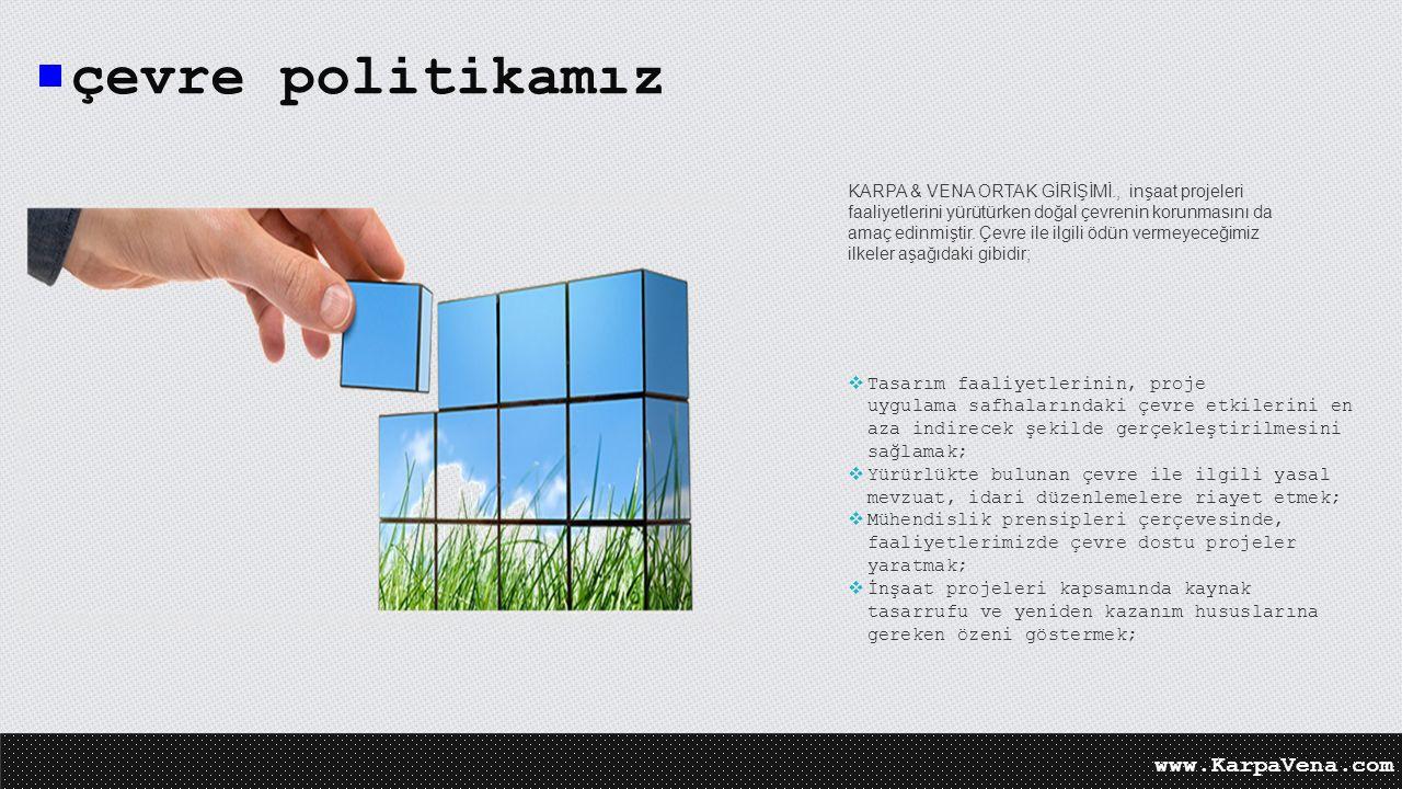 çevre politikamız www.KarpaVena.com