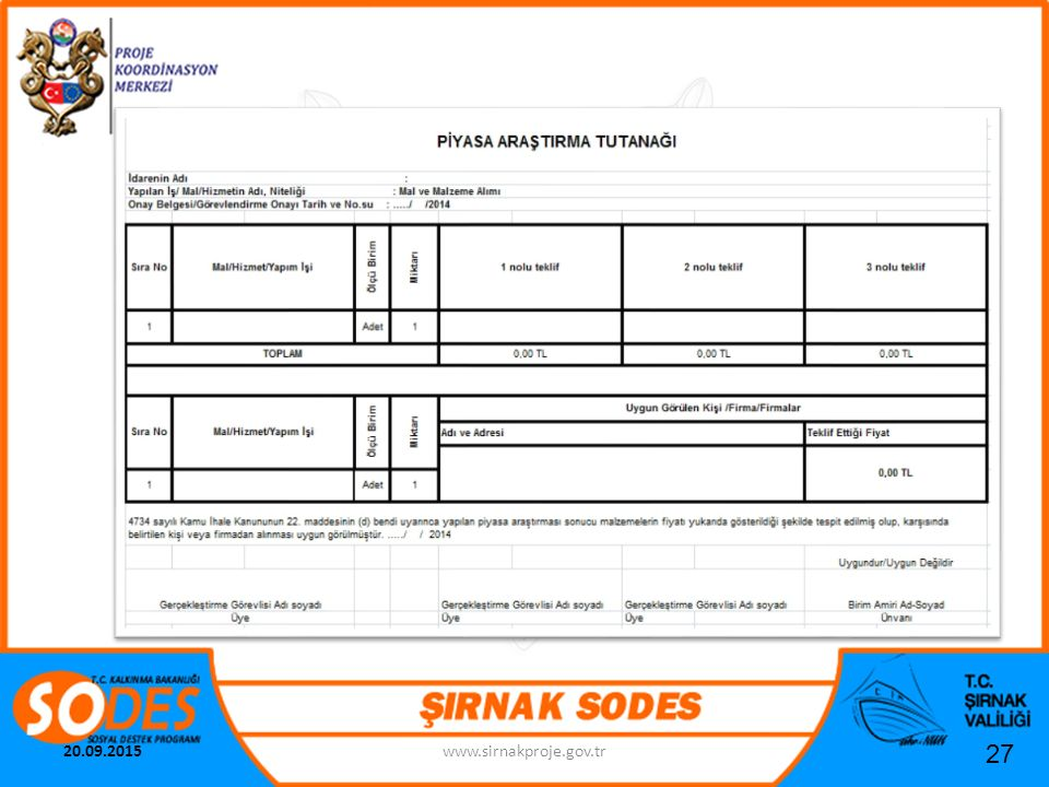 22.04.2017 www.sirnakproje.gov.tr