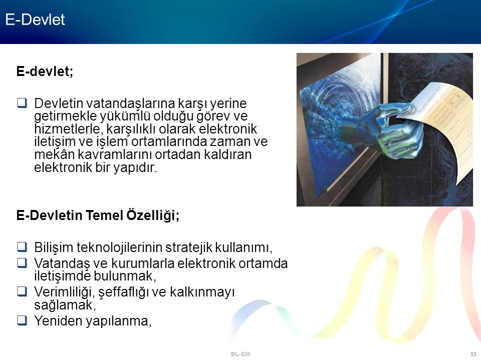E-Devlet E-devlet;