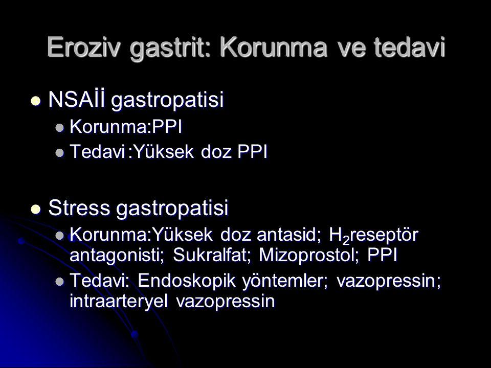 Eroziv gastrit: Korunma ve tedavi