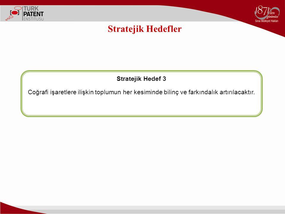 Stratejik Hedefler Stratejik Hedef 3