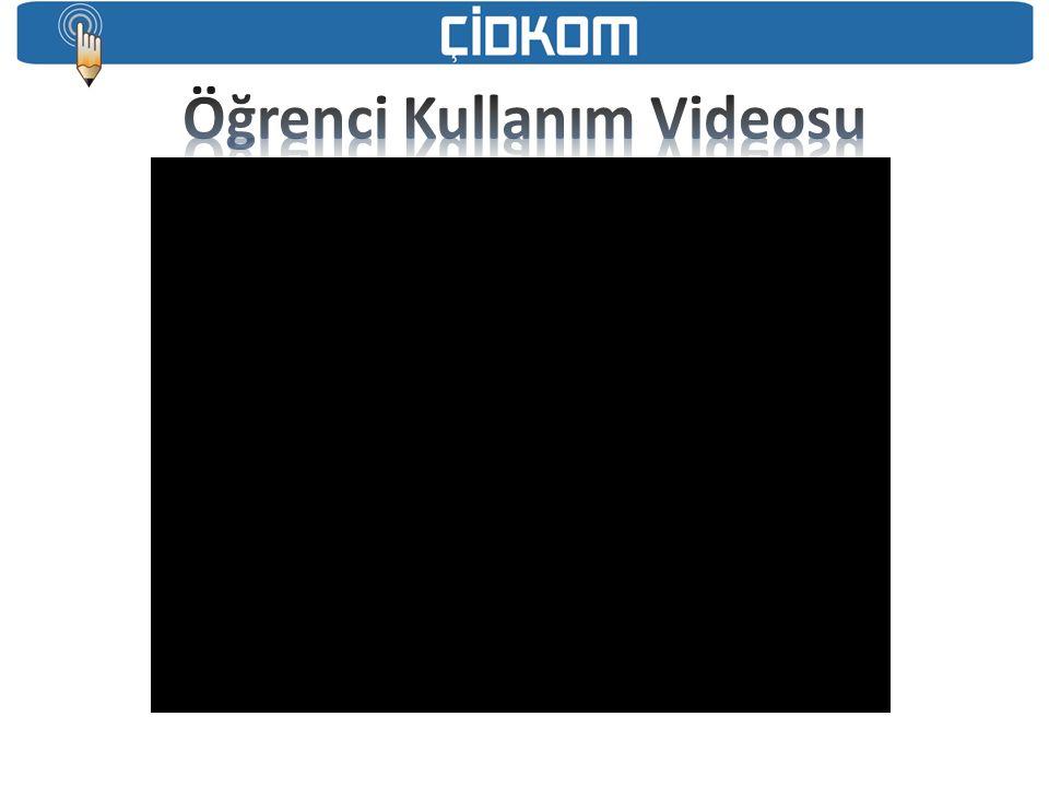 Öğrenci Kullanım Videosu