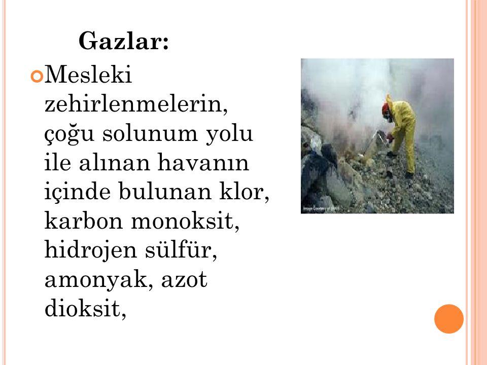 Gazlar: