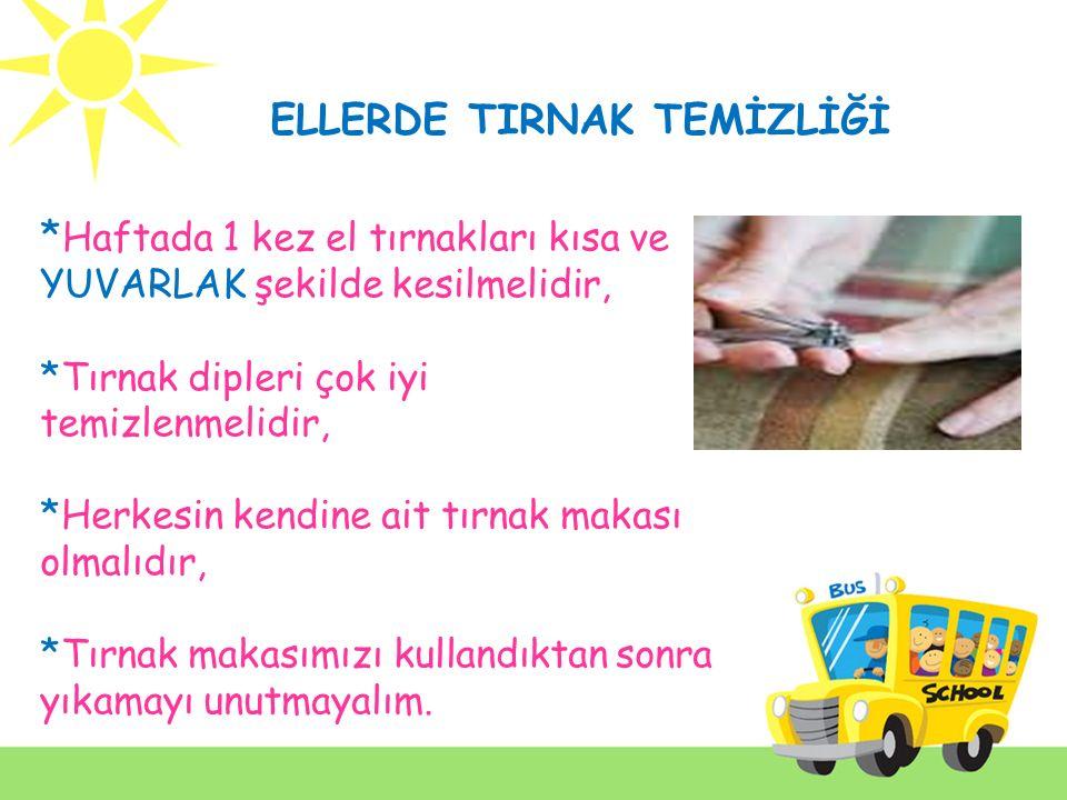 ELLERDE TIRNAK TEMİZLİĞİ