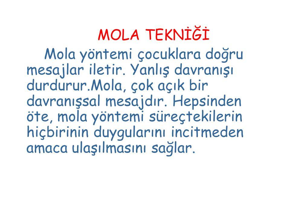 MOLA TEKNİĞİ