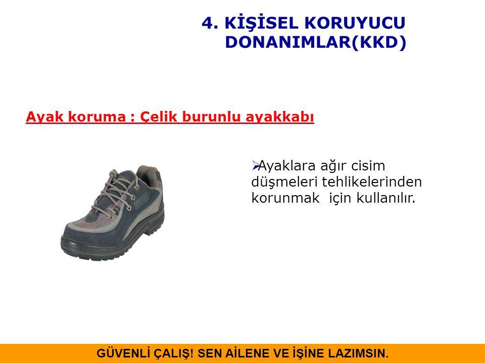 4. KİŞİSEL KORUYUCU DONANIMLAR(KKD)