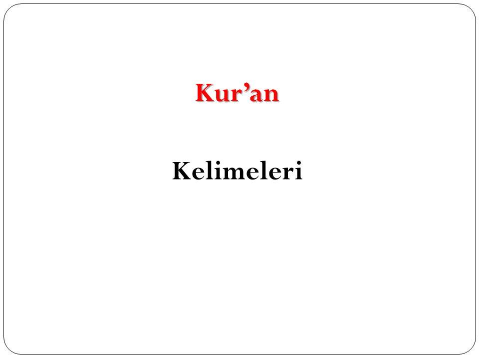 Kur'an Kelimeleri