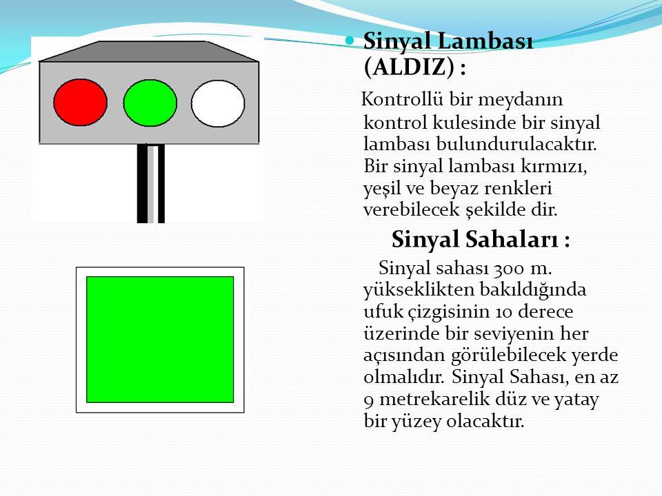 Sinyal Lambası (ALDIZ) :