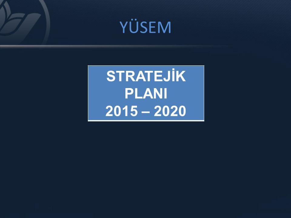 YÜSEM STRATEJİK PLANI 2015 – 2020