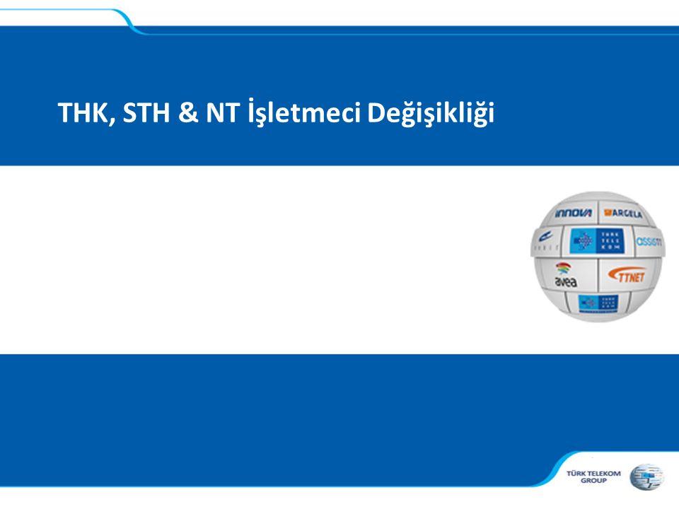 THK, STH & NT İşletmeci Değişikliği