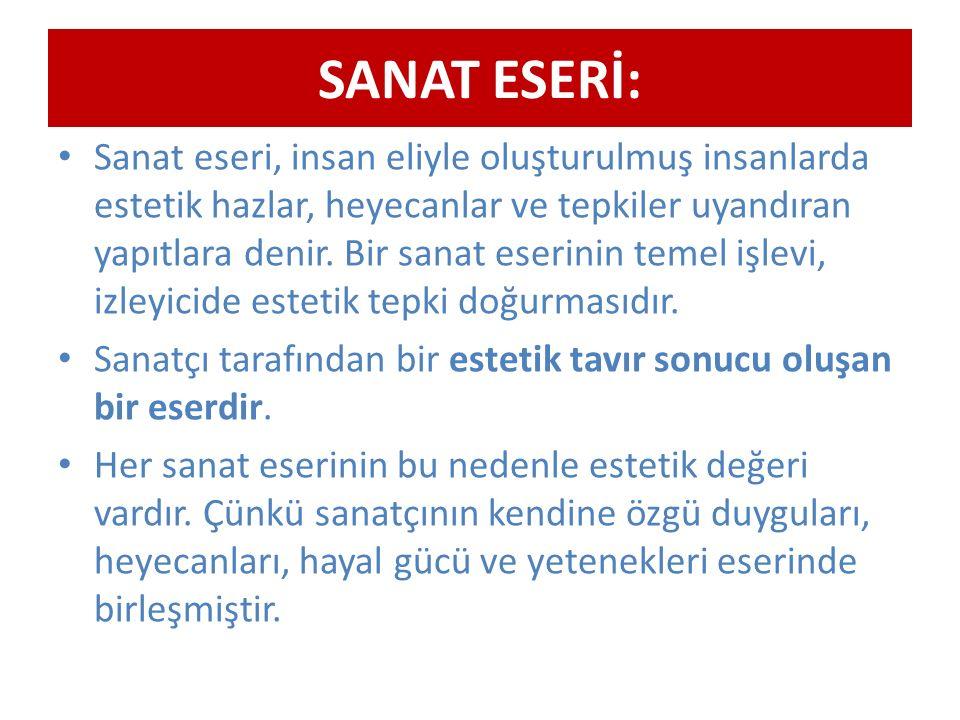SANAT ESERİ: