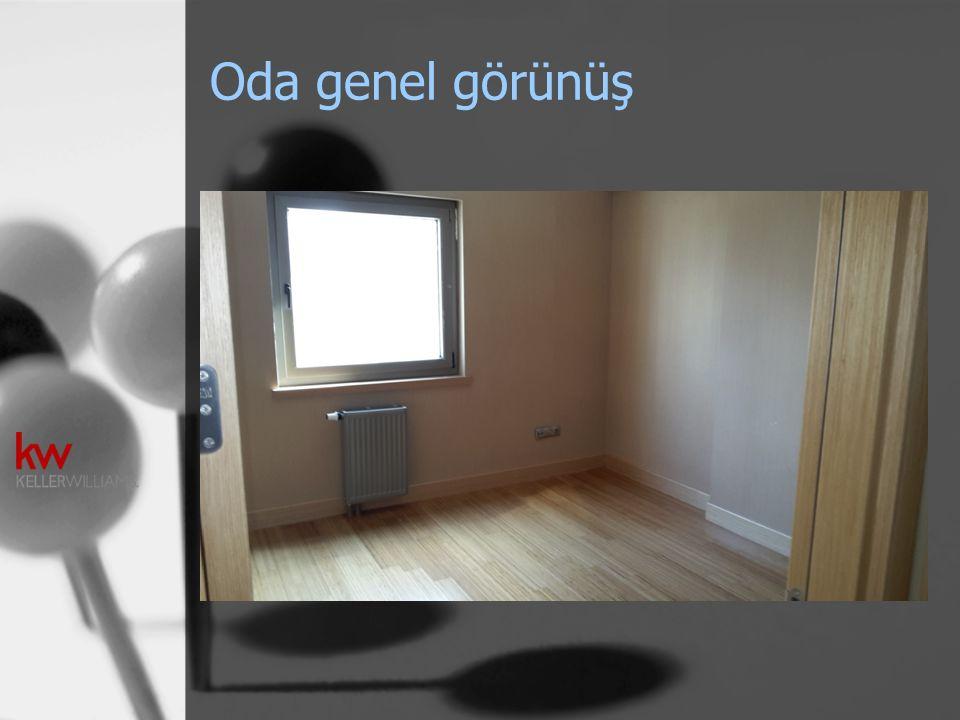 Oda genel görünüş