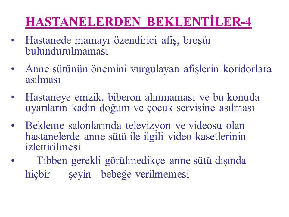 HASTANELERDEN BEKLENTİLER-4