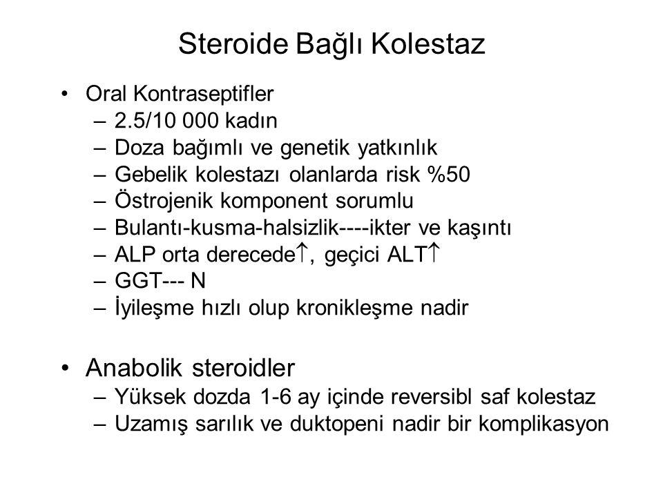 Steroide Bağlı Kolestaz
