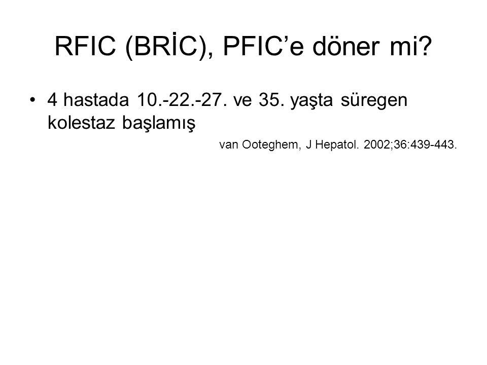 RFIC (BRİC), PFIC'e döner mi