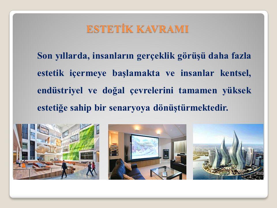 ESTETİK KAVRAMI
