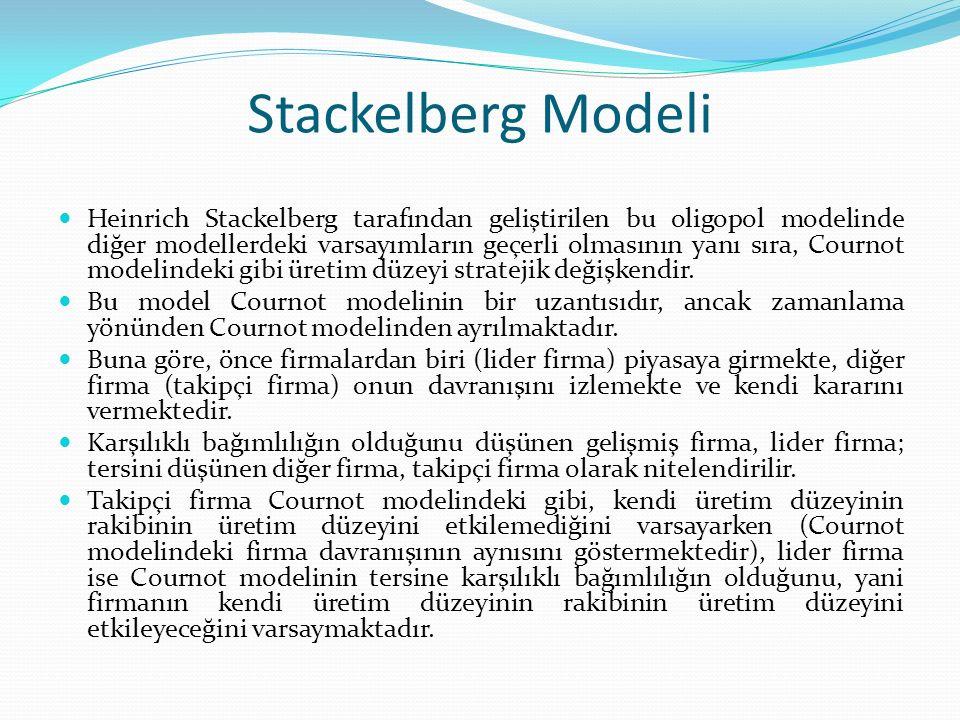Stackelberg Modeli